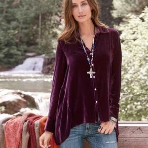 Sundance Velvet Dream Blouse
